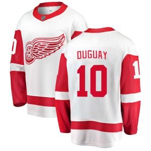 Men's Detroit Red Wings Ron Duguay Fanatics Branded Breakaway Away Jersey - White