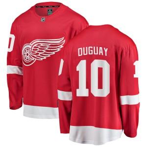 Men's Detroit Red Wings Ron Duguay Fanatics Branded Breakaway Home Jersey - Red