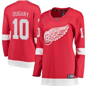 Women's Detroit Red Wings Ron Duguay Fanatics Branded Breakaway Home Jersey - Red