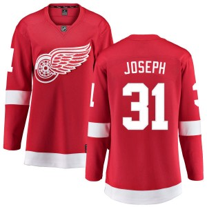 Women's Detroit Red Wings Curtis Joseph Fanatics Branded Home Breakaway Jersey - Red