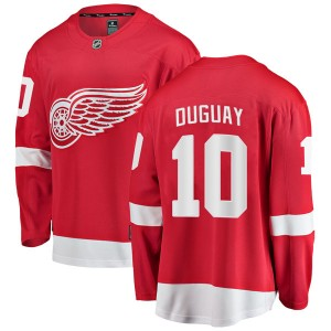 Youth Detroit Red Wings Ron Duguay Fanatics Branded Breakaway Home Jersey - Red