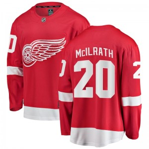 Youth Detroit Red Wings Dylan McIlrath Fanatics Branded Breakaway Home Jersey - Red
