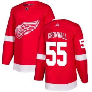 Men s Detroit Red Wings Niklas Kronwall Adidas Authentic Jersey - Red e48e2ebef