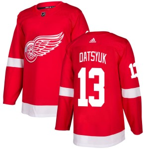 Men's Detroit Red Wings Pavel Datsyuk Adidas Authentic Jersey - Red