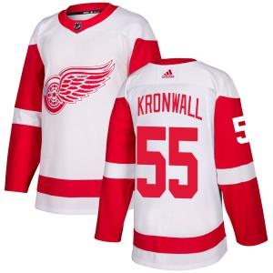 Men s Detroit Red Wings Niklas Kronwall Adidas Authentic Jersey - White 15c032b57