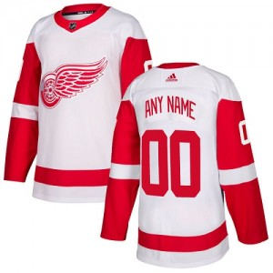 4faa5649 Women's Detroit Red Wings Custom Adidas Authentic ized Away Jersey - White