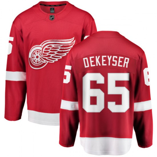 1d07aba0bfa Men s Detroit Red Wings Danny DeKeyser Fanatics Branded Home Breakaway  Jersey - Red